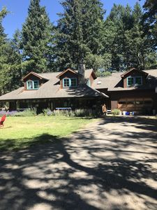 Photo for Paradise cabin in the  beautiful willamette valley forest