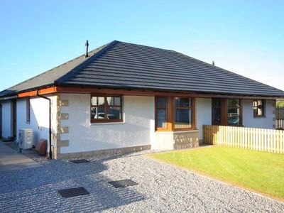 Photo for Modern, newly built holiday home on the Black Isle