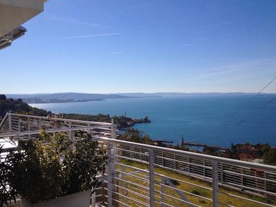 Photo for Stunning sea view of the Gulf of Trieste with Parking Garage