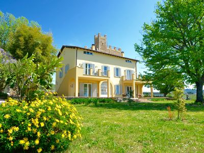 Photo for WONDERFUL FARMHOUSE NEAR ROME, WITH SEA VIEW AND HOT TUB. LAST MINUTE AUGUST!