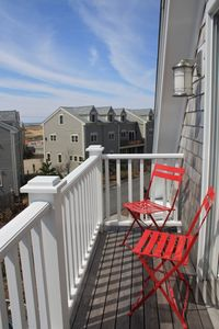 Photo for Townhouse in West End near Herring Cove Beach; water views; gourmet kitchen