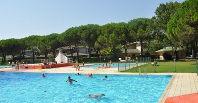 Photo for Holiday apartment in holiday village with pool and garden