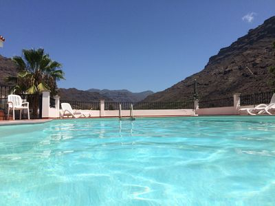 Photo for Secluded Large Family Villa With Pools And Mountain Views