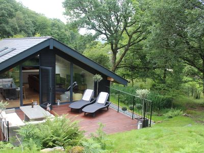 Photo for Stunning, Luxury Lodge - 300m from Lake Coniston - Sleeps 8