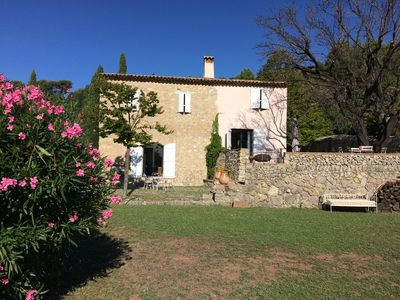 Photo for Beautiful Provençal house sea view, Var sleeps 10