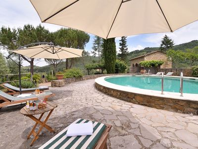 Photo for 7BR Villa Vacation Rental in Gaiole in Chianti, Siena