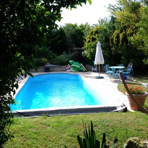 Photo for Guest rooms with private swimming pool located in the center area near Beaune