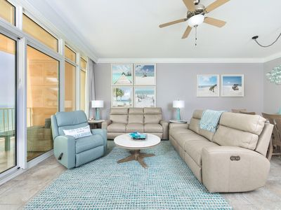 Photo for Beautiful New Upscale Beach Front Condo in Orange Beach