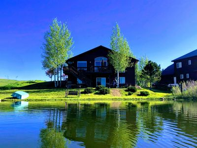 Photo for TRANQUIL LAKEFRONT RETREAT