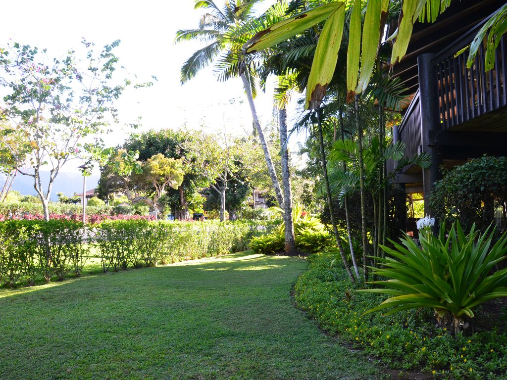 Cool garden level home, Private Hot Tub, Walk to Beach, Exotic ...