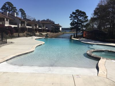 Photo for Lake Condo near OAKLAWN; No Noise Above; NO STAIRS-Pet friendly; Keyless Entry