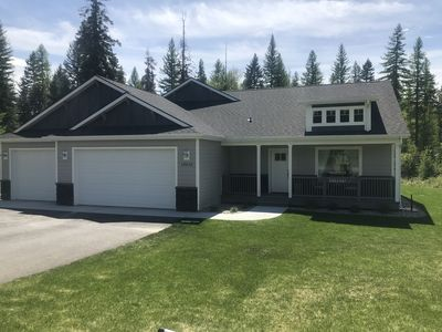 Photo for Beautiful, newly built family craftsman home in the Kootenai Woods subdivision.