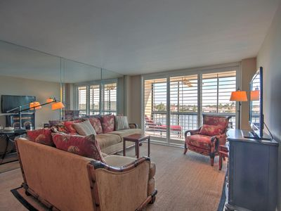 Photo for Overlooking Clam Bay. This lovely two bedroom, two bath condo is located in the South Seas Club over looking Clam Bay.