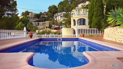 Photo for CABANILLAS -  Villa for rent for family of 4 people on the Benissa coast