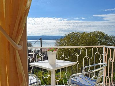 Photo for Studio flat with balcony and sea view Duće, Omiš (AS-946-d)