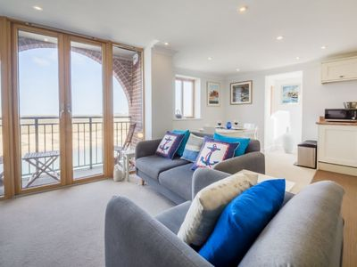 Photo for This excellent apartment boasts amongst the best views in Wells-next-the-Sea