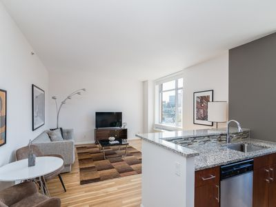 Photo for Sonder | 21 Chelsea | Sophisticated 1BR + Rooftop