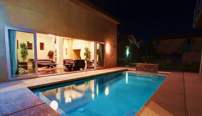 Pool Joining Living Room