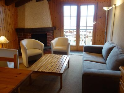 Photo for 2-bedroom 2* apartment for 4-6 people located close to the departure of the lift of the Piste de l'O