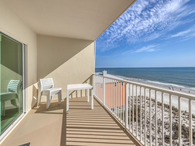 Photo for Gulf-front condo w/ views & shared indoor/outdoor pools, hot tub & sauna!