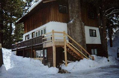 Squaw Valley Ski House in Snow