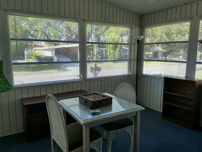 Photo for SARASOTA 50+ GATED COMMUNITY BEAUTIFUL, SPACIOUS MODULAR HOME!