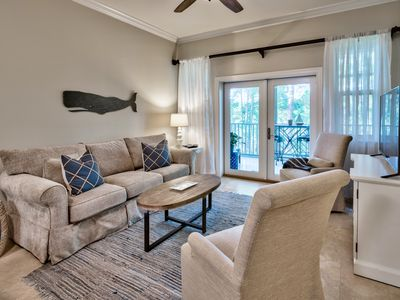 Photo for Seagrove Haven - Clean, Updated Condo Near Building Pool