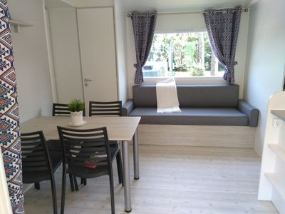Photo for Comfortable mobile home - air conditioning - terrace