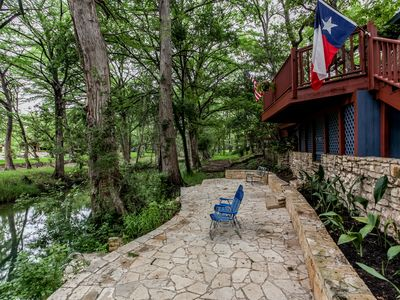 Photo for Creekside Living-Swimming Hole-Giant Cypress-Large Deck!