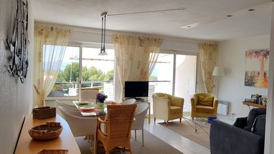 Photo for Superb sea view for this 3 * accommodation in Rési. standing with swimming pool, garage