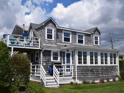 Photo for Pt. Judith beach house. Water views. Walk to state beach. Newly renovated!