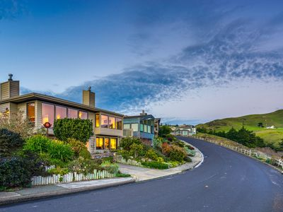 Photo for Spacious home with stunning ocean views - walk to the beach & golf!