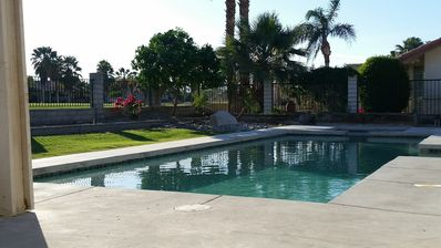 Photo for Private Pool & Spa w/Golf & Mtn Views! Sleeps 6! - Indian Palms Country Club