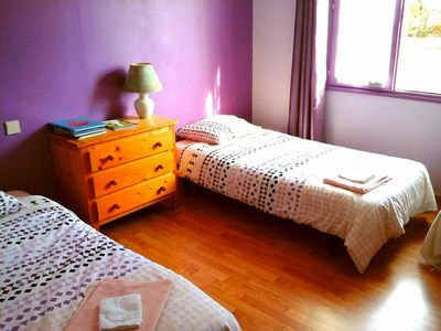Photo for Twin room for rent 30 minutes from Nantes