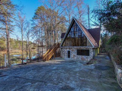 Photo for Lanier Laptime, Unconventional Lakefront Living, Dock, Kayaks, Kamado grill