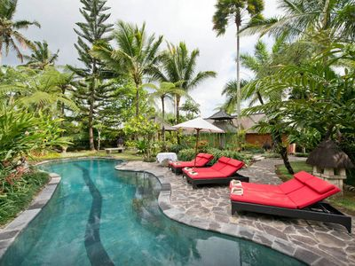 Photo for Weekend Retreat-  REMOTE AND SECLUDED Residence high above Bali's Ayung River