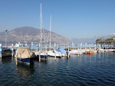 Photo for Provence on Lake Iseo - Apartment near the pier for Monte Isola -
