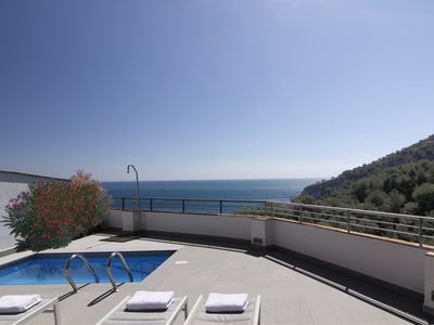 Photo for House with sea views from every room.WIFI y AC. Natural park of Cerro Gordo