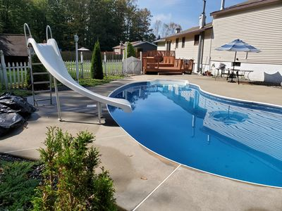 Photo for Unique Modern Home-- INGROUND POOL CLOSE TO UTICA
