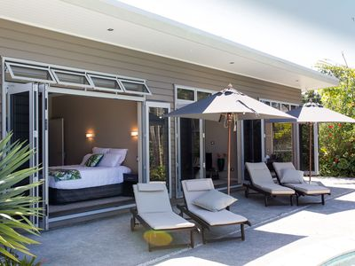 Photo for Experience a stay at a luxury retreat - 2 bedroom poolside unit