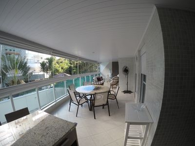 Photo for Great apartment with gourmet balcony, close to the beach