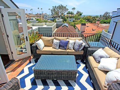 Photo for Corona Del Mar Beach Rental With Gorgeous Water Views With 1 Car Parking