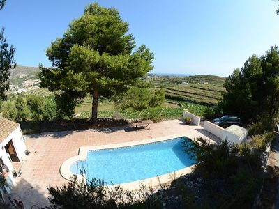 Photo for Beautiful Private Villa with Pool with Sea Views