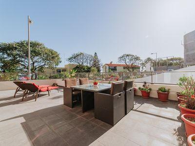 Photo for Ocean View Terrace Apartment