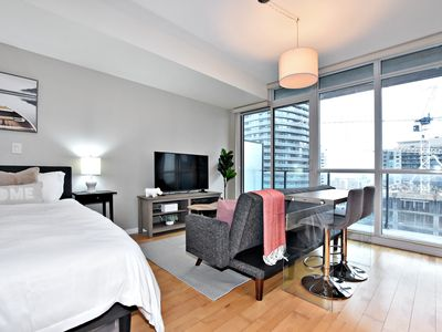 Photo for Hotel Style Room, CN Tower View, Subway/ACC/MTCC