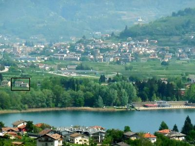 Photo for Apartment with shared garden, 400 metres from Lake Caldonazzo