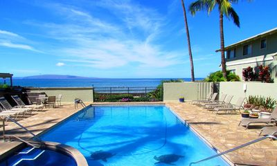 Shores of Maui private pool for guests of complex.