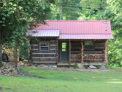 Photo for CREEKSIDE HIDEOUT ON CANEY CREEK (HOT TUB)