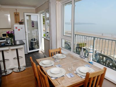 Photo for Sea Urchins Apartment - Panoramic Sea and Harbour Views, WiFi, Parking