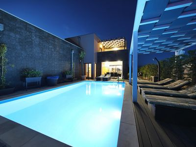Photo for Modern Villa Nerina, in Dalmatia, with a Pool